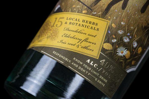 Lúčky gin, slovenská novinka konkurujúca zahraničným prémiovým ginom